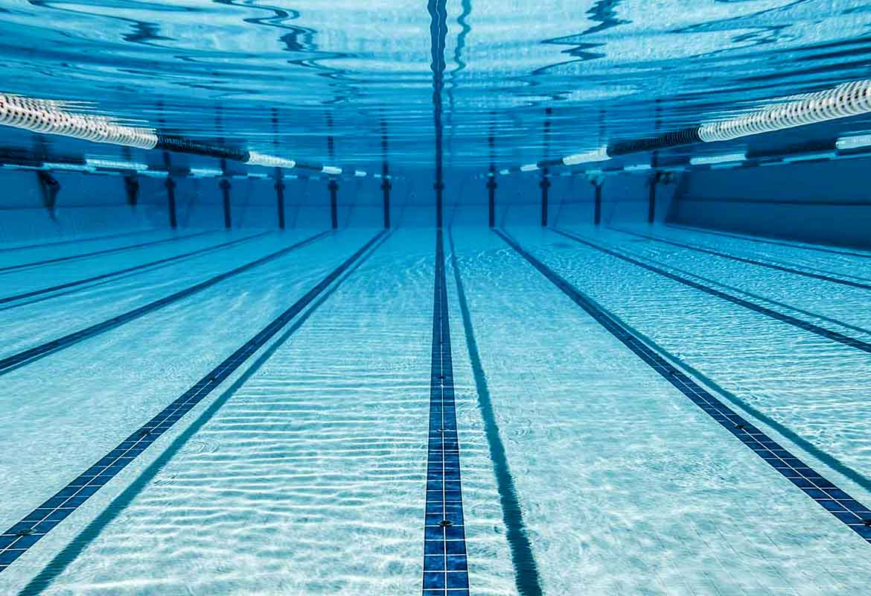 a-swim